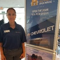 Anna  Goslin at Priority Chevrolet Newport News