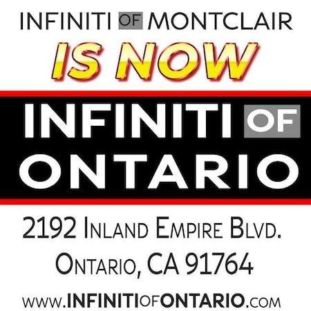 INFINITI of ONTARIO, Ontario, CA, 91764