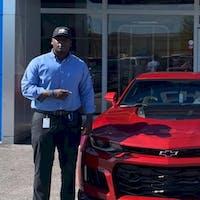 Jarvis Bryant at Hendrick Chevrolet Hoover