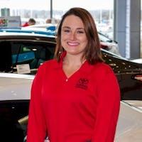 Caitlyn Sadowske at Toyota of Brookfield