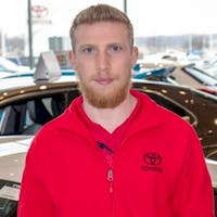 Aiden Abbasov at Toyota of Brookfield