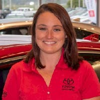 Caitlyn Sadowske at Toyota of Brookfield