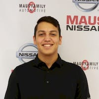 Baylor Delgado Hernandez at Maus Nissan of North Tampa