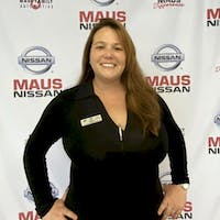 Daisy Bice at Maus Nissan of North Tampa