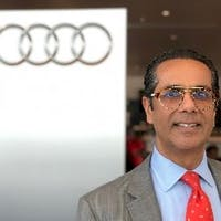 Ahamed Eboo at Audi Marietta