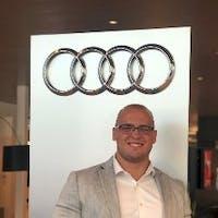Luke Bialas at Audi Marietta