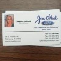 Lindsey Gilland at Jim O'Neal Ford