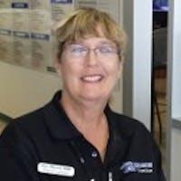 Elaine Lathem at Joe Myers Ford