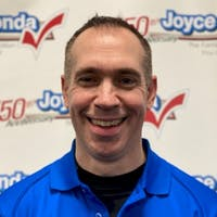 John  Lavelle at Joyce Honda