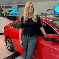 Lauren Swingle at Joyce Honda