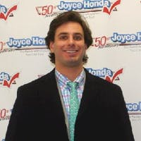 Chris Stark at Joyce Honda