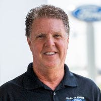 Rick Gibson at Karl Flammer Ford