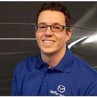 Brandon Zollars at Keffer Mazda - Service Center