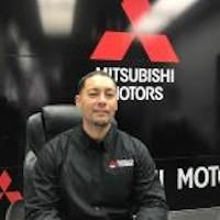Chris Prado at Brooklyn Mitsubishi