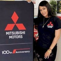 Janin Estevez at Brooklyn Mitsubishi