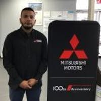 Dewan Arefin at Brooklyn Mitsubishi