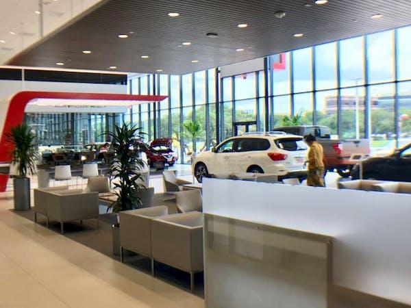 Ancira Nissan, San Antonio, TX, 78230