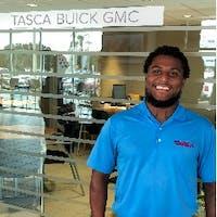 Blaze Richardson at Tasca Buick GMC