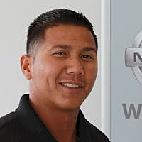 Mark Anthony Gudinez at Lee Nissan