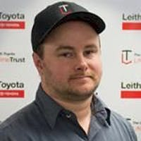 Zach Peterson at Leith Toyota