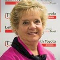 Shelia Fowler at Leith Toyota