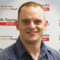 Tony Sperlazza at Leith Toyota