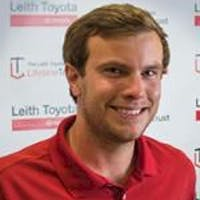 Lewis Cable at Leith Toyota