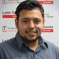 Juan Aguilera at Leith Toyota