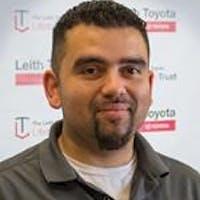Leo Cruz at Leith Toyota