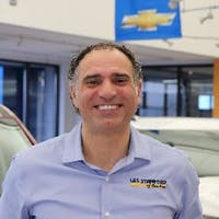 Ali Reda at Les Stanford Chevrolet Cadillac