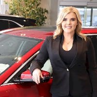 Brittany Mead at Les Stanford Chevrolet Cadillac