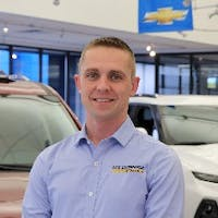 Brian Witkowski at Les Stanford Chevrolet Cadillac
