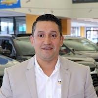 Carlos Huerta at Les Stanford Chevrolet Cadillac