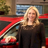 Michelle Sladovich at Les Stanford Chevrolet Cadillac
