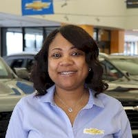Telicia  Zanders at Les Stanford Chevrolet Cadillac