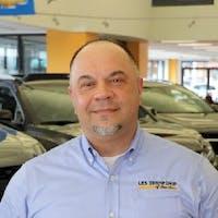 Goran Krstovski at Les Stanford Chevrolet Cadillac