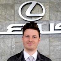 Brent  Burns at Lexus of Naperville