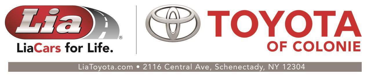 Lia Toyota Colonie >> Lia Toyota Of Colonie Toyota Used Car Dealer Service