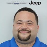 Marcus  Heflin at Antwerpen Chrysler Jeep Dodge Ram