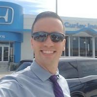 Justin  Stevenson  at McCurley Integrity Honda
