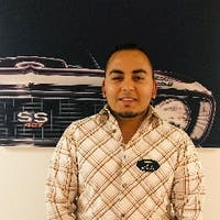 Julio Saenz at Emich Chevrolet