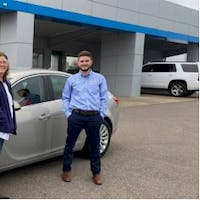 Andrew True at Stan McNabb Chevrolet Cadillac of Columbia