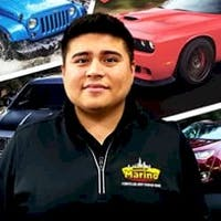Franky  Moreno at Marino Chrysler Jeep Dodge