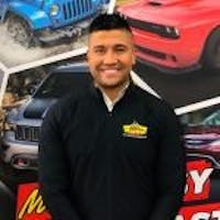JC Alvarado at Marino Chrysler Jeep Dodge