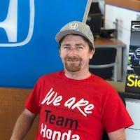 Paul Davis at Manly Honda