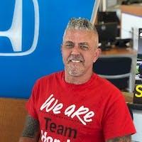 Mark Winkler at Manly Honda