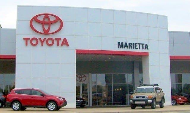 Marietta Toyota Service >> Marietta Toyota Toyota Service Center Dealership Ratings