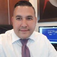 Armando Nuno at Mark Christopher Auto Center
