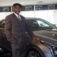 Gerald Waters at Mark Christopher Auto Center