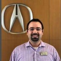 Ideen Ghaffari at Arlington Acura in Palatine